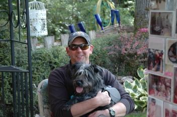 DSC_0395 Dan with Dixie